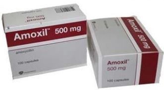 amoxil 500mg 100pills